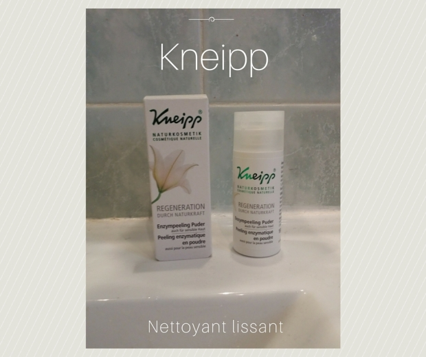 Peeling enzymatique de Kneipp